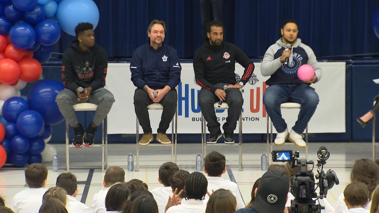 Toronto sports teams launch anti-bullying program