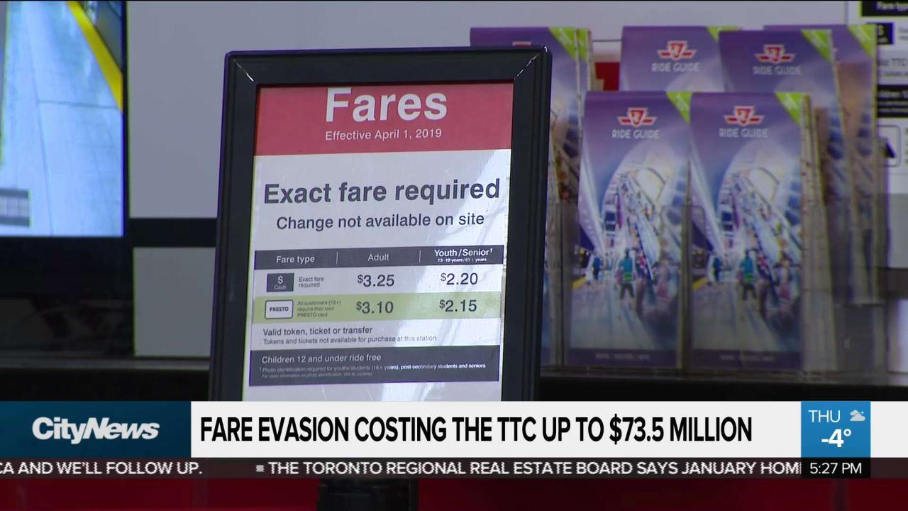 Business report: TTC struggles to stem fare evasion losses