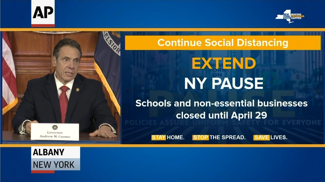 Cuomo announces launch of multi-platform campaign to get New Yorkers to stay home
