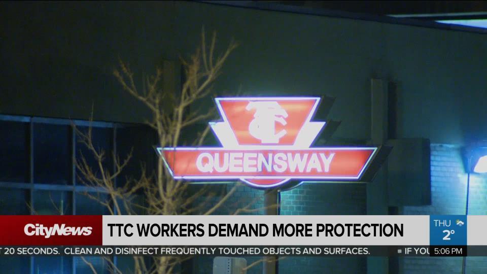 TTC workers demand more protection during coronavirus pandemic