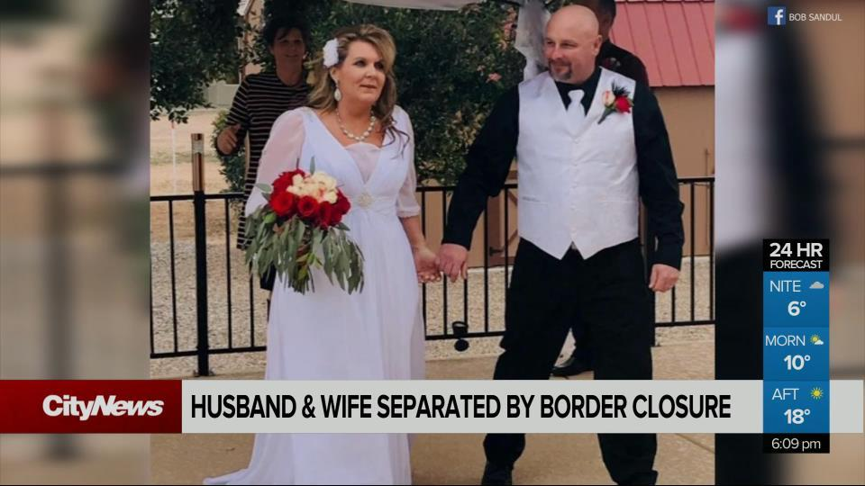 Wife separated from husband