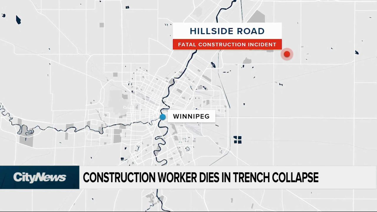 Construction worker dies in trench collapse - Video ...