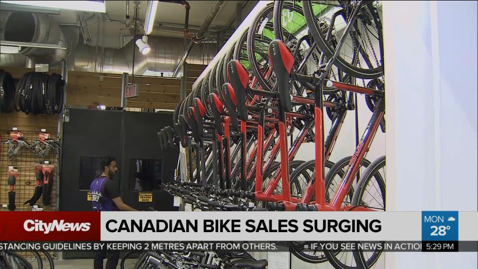 Business Report: Bike sales booming across Canada - CityNews Toronto