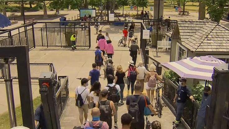 Ferries resume service to Toronto Islands