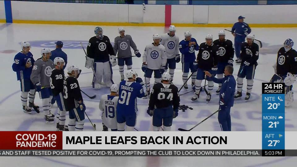 Maple Leafs Back In Action Take On Habs In Sole Exhibition Game