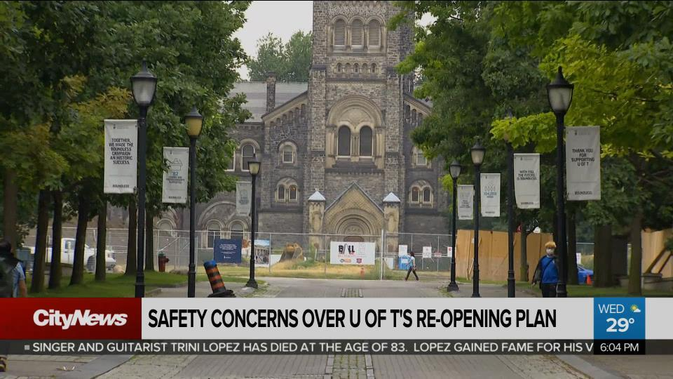 U of T's COVID-19 re-opening plan is not safe, say workers