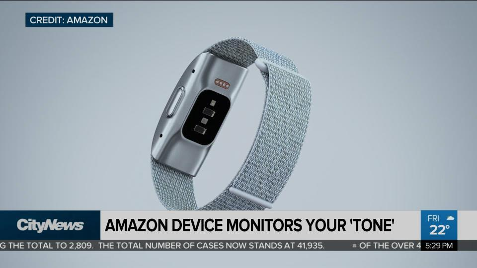 Business Report: New Wearable Device judges your 'Tone'