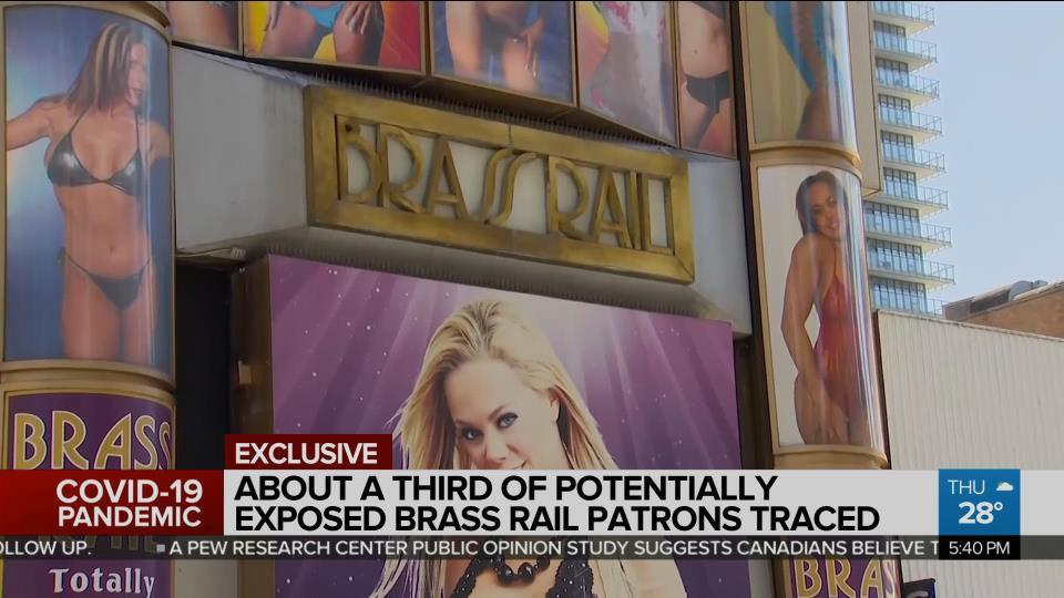 Most Brass Rail Patrons Gave Fake Contact Tracing Information