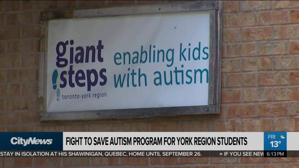 Fight to save autism program for York Region students