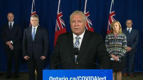 Ontario Imposing Covid 19 Restrictions On Toronto Peel Region And Ottawa Ford
