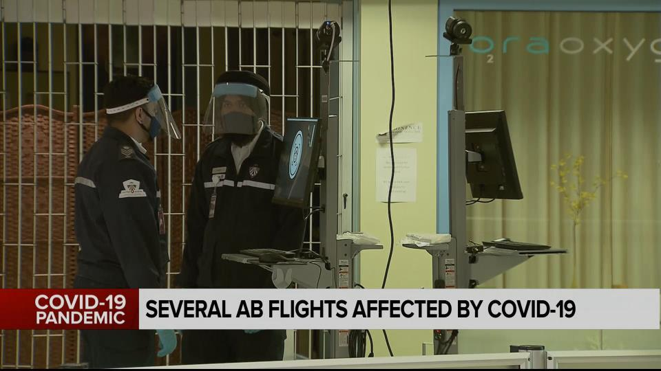 Several Alberta Flights With Covid 19 Cases