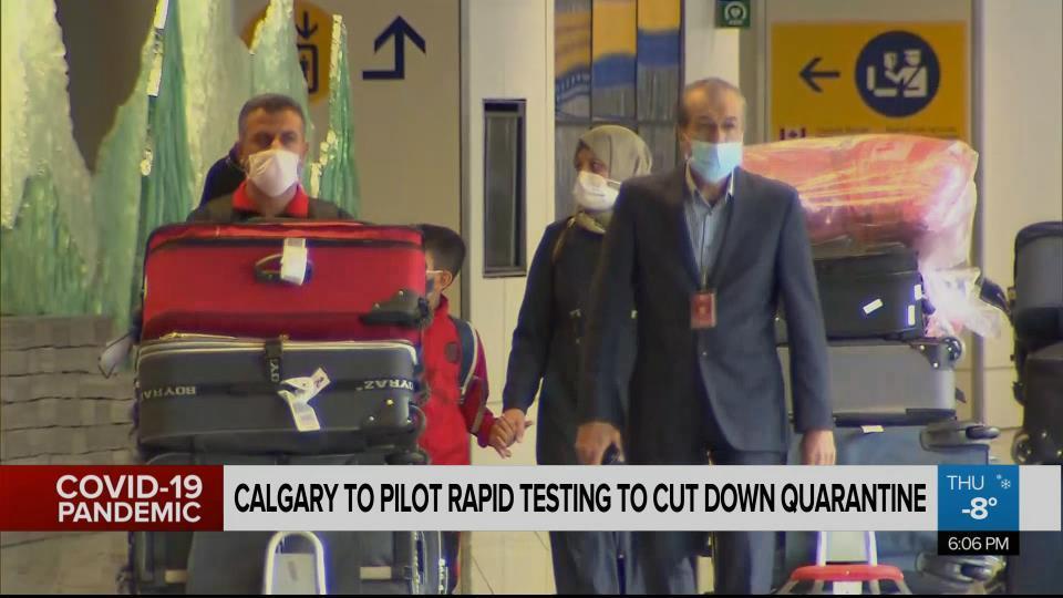 New Covid 19 Testing Program For International Travellers Arriving In Alberta