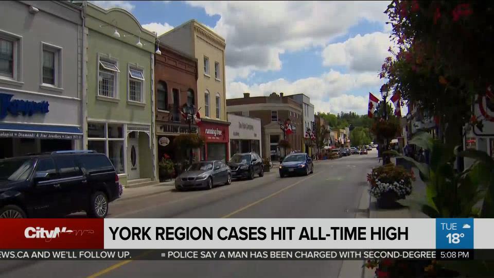 Coronavirus Cases Hit All Time High In York Region