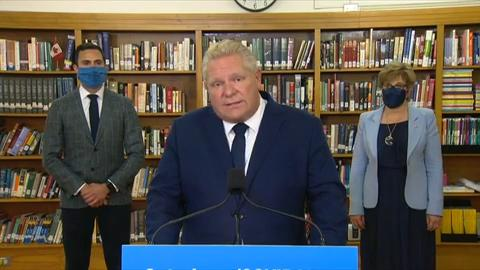 Ford says Ontario not reaching COVID-19 testing capacity because 'people aren't coming in' - CityNews Toronto