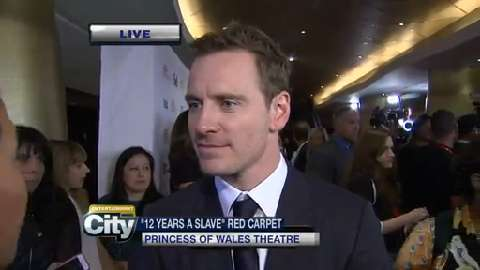 Raw video: Michael Fassbender discusses '12 Years a Slave' at TIFF